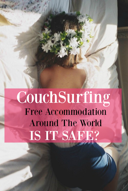 what is CouchSurfing cheap free accommodation safe