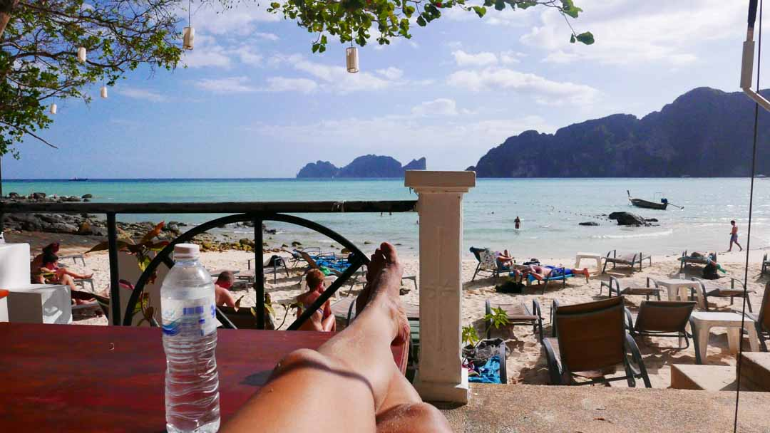 koh phi phi islands accommodation beach time