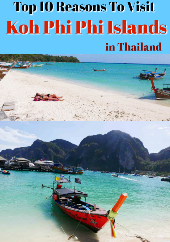 koh phi phi islands what to see visit