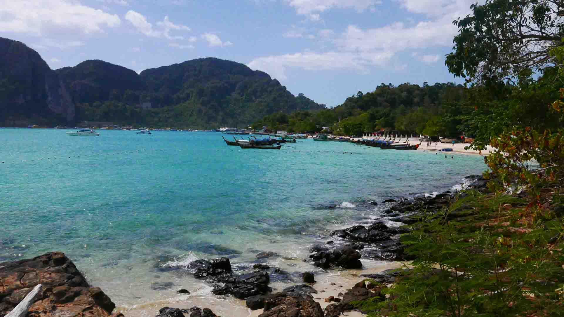 phi phi beach pictures