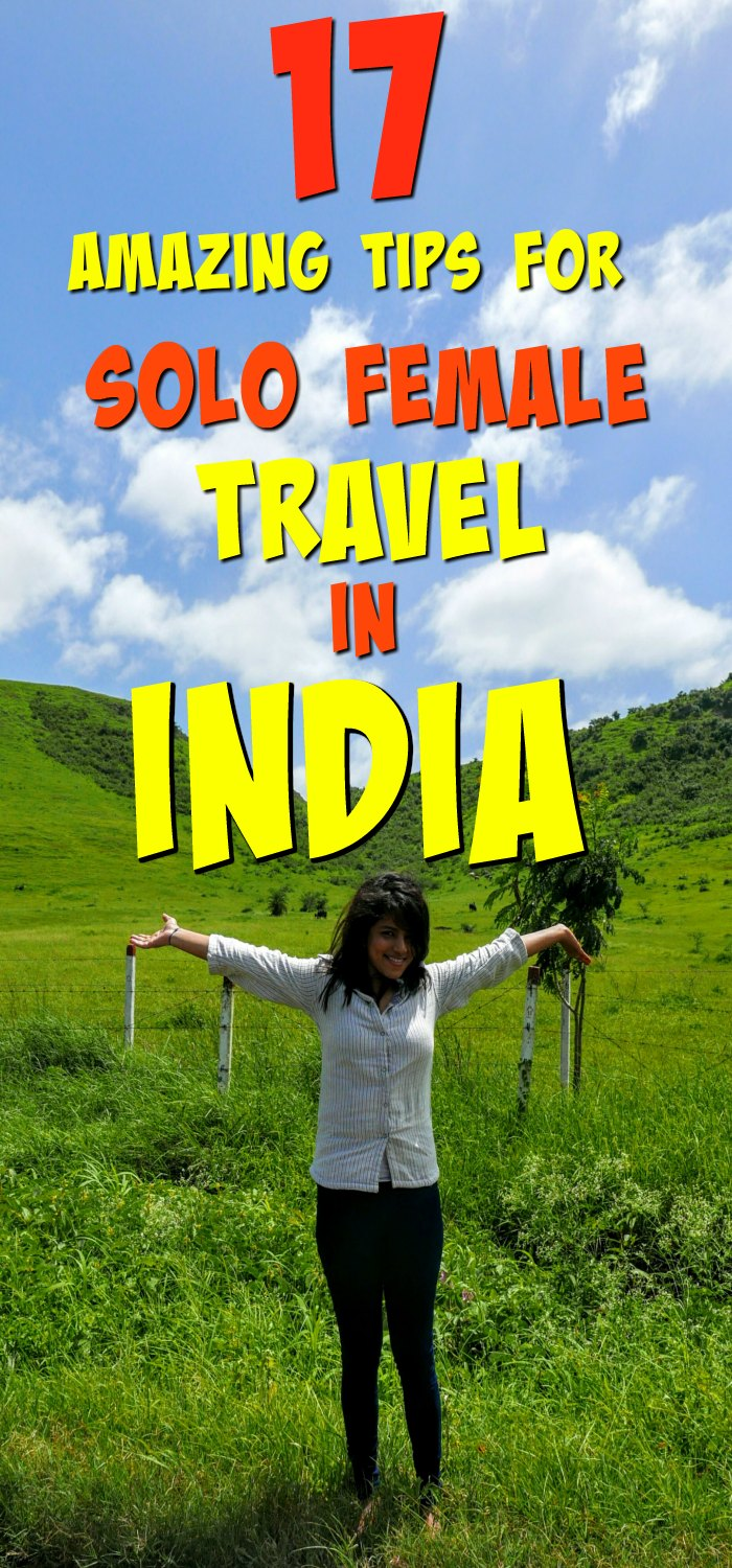 solo female travel in India tips