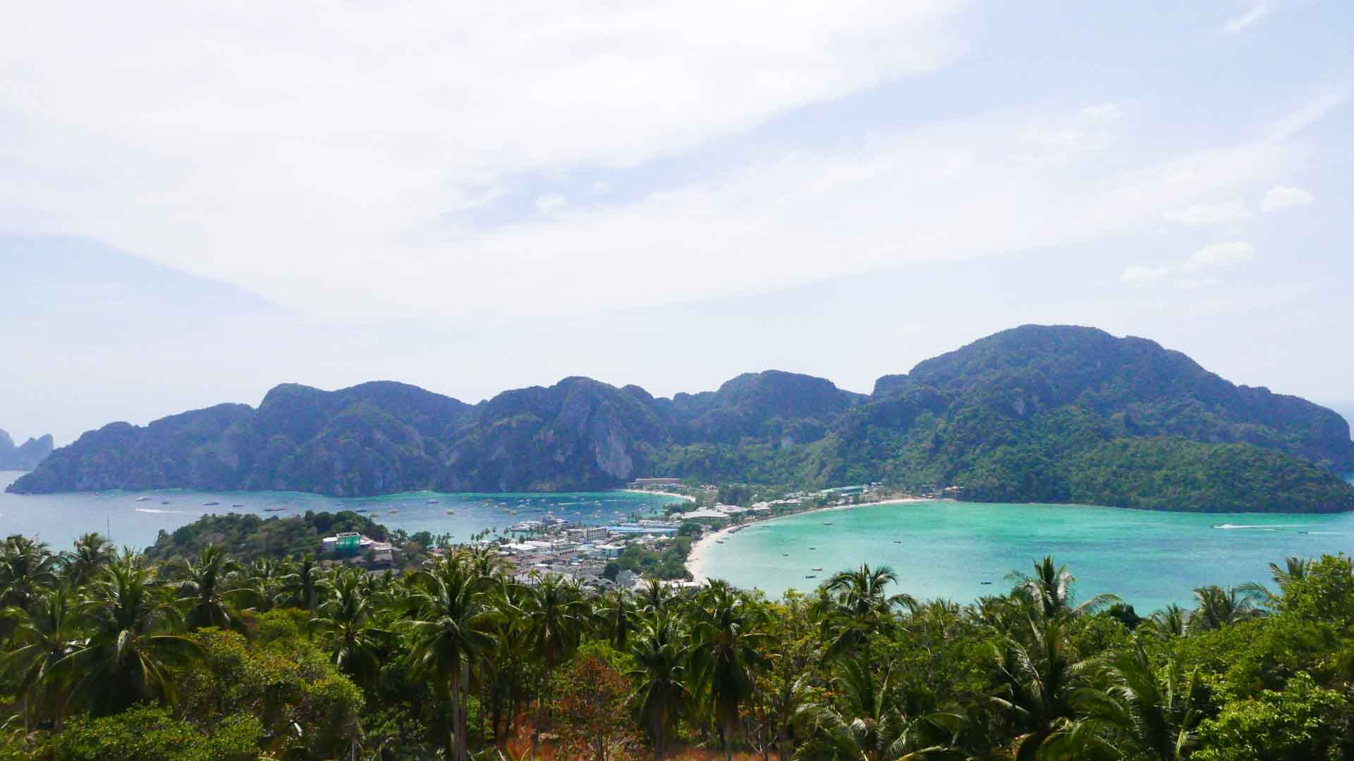 view points in koh phi phi island