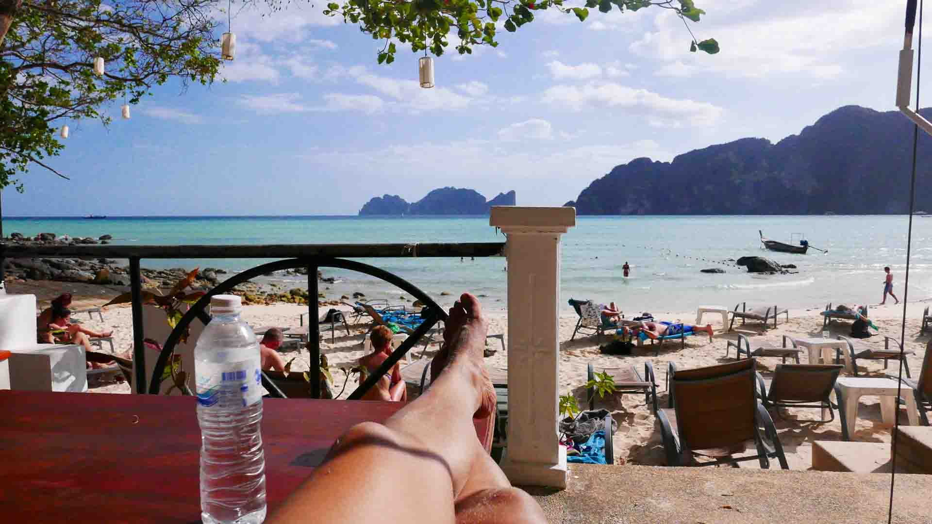 where is koh phi phi island in thailand